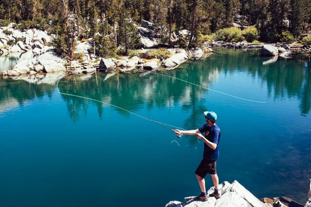 Fishing as an enjoyable and healthy exercise