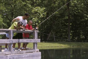 family-fishing-from-a-bridge-622x420